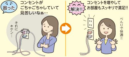 【コンセント増設】
