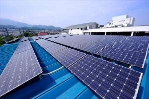 太陽光発電パネル設置工事実例